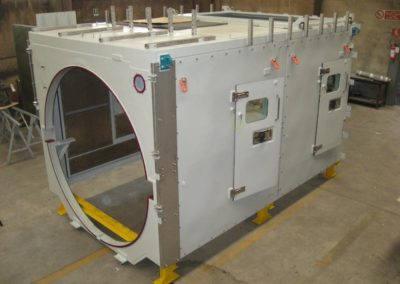 enclosure for british gas turbine company